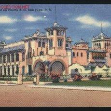 Postales: A-3537- PUERTO RICO. SAN JUAN . CASA DE ESPAÑA. Lote 17780251