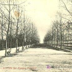 Postales: TARJETA POSTAL DE SANTIAGO DE CHILE - AVD. DEL PARQUE FORESTAL. Lote 9811947