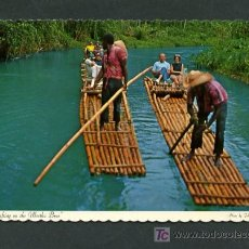 Postales: JAMAICA. MONTEGO BAY. *RAFTING ON THE MARTHA BRAE* ED. DEXTER Nº 78181-C. NUEVA.. Lote 10880275