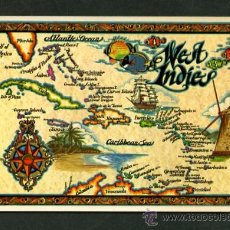 Postales: ANTILLAS. *WEST INDIES. THE CARIBEAN* NUEVA. Lote 11148275