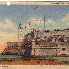 Postales: Nº 17722 POSTAL CUBA HABANA CASTILLO DEL MORRO. Lote 24969789