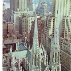 Postales: Nº 17799 CATEDRAL PATRIKS NEW YORK ESTADOS UNIDOS. Lote 11735274
