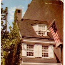 Postales: Nº 17750 BETSY ROSS HOUSE PHILADELPHIA. Lote 11735295