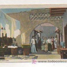 Postales: PUERTO RICO. SAN JUAN. UN PATIO. 1909. . Lote 148198981