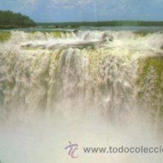 Postales: Nº 4325 POSTAL BRASIL TURISTICO FOZ DO IGUAZU GARGANTA DEL DIABLO. Lote 26764695