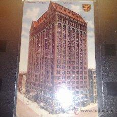 Postales: ANTIGUA POSTAL RASCACIELOS AMERICANO MASONIC TEMPLE CHICAGO USA 1910. Lote 26162269