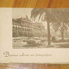 Postales: BUENOS AIRES EN FOTOGRAFIAS.30 FOTOS ANTIGUAS. EDC ARGENTINA 1950. ESTADIO CLUB ATLETICO RIVER PLATE. Lote 27281472