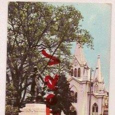 Postales: ANTIGUA POSTAL MANIZALES COLOMBIA IGLESIA INMACULADA MONUMENTO SABIO F JOSE DE CALDAS CIRCULADA 1965. Lote 12605305