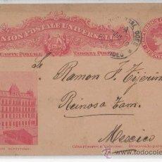 Postales: TARJETA ENTERO POSTAL DE UNIVERSIDAD MONTEVIDEO URUGUAY . Lote 26960860