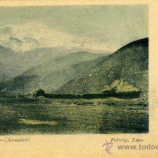 Postales: POSTAL DE ECUADOR EL CHIMBORAZO. Lote 13416573