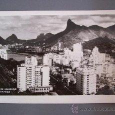 Postales: FOTO POSTAL DE BRASIL, RIO DE JANEIRO - BOTAFOGO - ESCRITA 1953, SIN CIRCULAR. Lote 23296353
