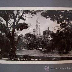 Postales: FOTO POSTAL DE BRASIL, SAO PAULO - PANORAMA (FOTO POSTAL COLOMBO Nº86,EN BLANCO, SIN CIRCULAR). Lote 23296355