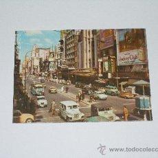 Postales: BUENOS AIRES . AVENIDA CORRIENTES . POSTAL EN COLOR ,. ESCRITA EN REVERSO . . Lote 15025851