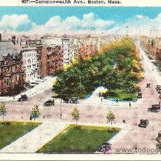 Postales: COMMONWEALTH AVENUE - BOSTON (MASS.). Lote 15817081