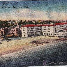 Postales: SAN JUAN DE PUERTO RICO.- HOTEL CONDADO.- AÑOS CINCUENTA. Lote 16594651