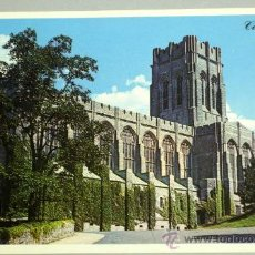 Postales: POSTAL CADET CHAPEL WEST POINT NEW YORK. Lote 17856525