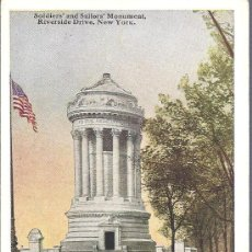 Postales: PS3910 NUEVA YORK 'SOLDIERS'AND SAILORS' MONUMENT, RIVERSIDE DRIVE'. SIN REFERENCIAS. SIN CIRCULAR. Lote 18185568
