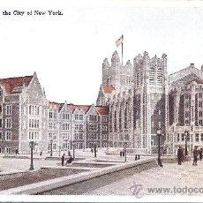 Postales: PS3908 NUEVA YORK 'COLLEGE OF THE CITY OF NEW YORK'. SIN REFERENCIAS. SIN CIRCULAR. Lote 18185699
