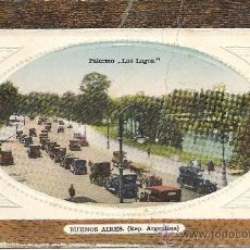 Postales: PS3310 BUENOS AIRES 'PALERMO - LOS LAGOS'. SIN REFERENCIAS. SIN CIRCULAR. Lote 18186251