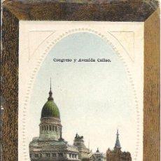 Postales: PS3062 BUENOS AIRES 'CONGRESO Y AVENIDA CALLAO'. SIN REFERENCIAS. SIN CIRCULAR. Lote 18186297