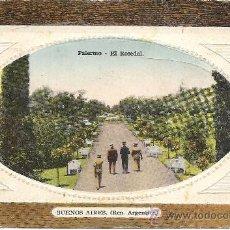 Postales: PS3252 BUENOS AIRES 'PALERMO - EL ROSEDAL'. SIN REFERENCIAS. SIN CIRCULAR. Lote 18186312