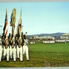 Postales: POSTAL NEW YORK UNITED STATES MILITARY ACADEMY WEST POINT CADET COLOR GUARD AÑOS 70. Lote 18552155