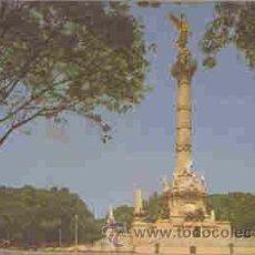 Postales: MEXICO D.F. - COLUMNA DE LA INDEPENDENCIA. Lote 18604476