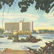 Postales: 7-2AY131. POSTAL CARIBE HILTON HOTEL. SAN JUAN PUERTO RICO. Lote 19154124