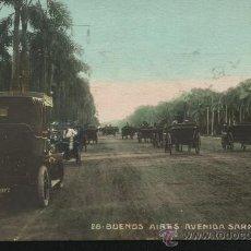 Postales: POSTAL DE BUENOS AIRES Nº 28 AV. SARMIENTO. Lote 19227502