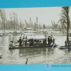 Postales: POSTAL ESCRITA EN REVERSO. LAGO XOCHIMILCO. MEXICO. Nº 218. Lote 19455406