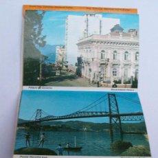 Postales: RECUERDO DE FLORIANOPOLIS, BRASIL. 6 POSTALES. . Lote 26265814