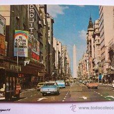 Postales: BUENOS AIRES, ARGENTINA, AVENIDA CORRIENTES. AÑOS 1970. Lote 27245456