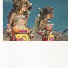 Postales: JEMEZ PUEBLO INDIAN BUFFALO DANCERS - NEW MEXICO -. Lote 21235940