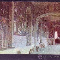 Postales: CORREDORES DEL PALACIO DE CORTES - CUERNAVACA - MEXICO. Lote 22288604