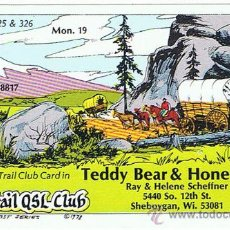 Postales: OREGON, TRAIL CLUB CARD, WISCONSIN, POSTAL PUBLICITARIA, AMÉRICA EEUU NUEVA, VER FOTOS. Lote 27164102