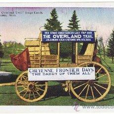 Postales: E.E.U.U. CHEYENNE FRONTIER DAYS, COLORADO, POSTAL PUBLICITARIA, NUEVA, VER FOTOS. Lote 27441049