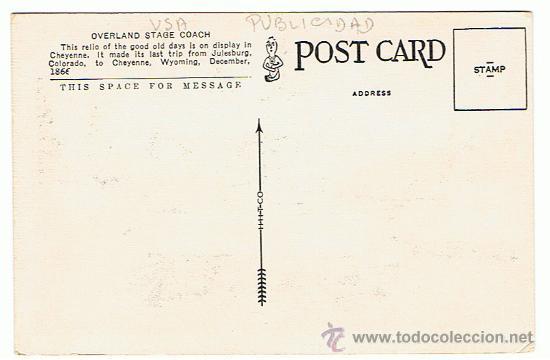 Postales: E.E.U.U. CHEYENNE FRONTIER DAYS, COLORADO, POSTAL PUBLICITARIA, NUEVA, VER FOTOS - Foto 2 - 27441049
