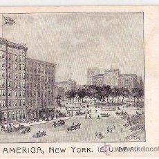 Postales: TARJETA POSTAL. ESTADOS UNIDOS. NEW YORK. HOTEL AMERICA. . Lote 23969919