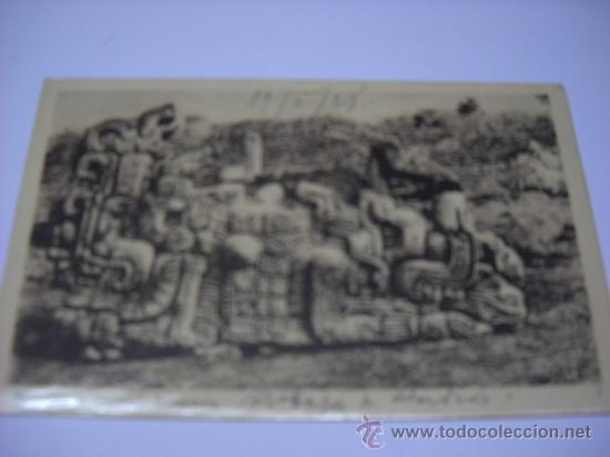 MONOLITO DE QUIRIGUA. GUATEMALA, EDI. EICHENBERGER. ESCRITA EN 1928. SIN CIRCULAR (Postales - Postales Extranjero - América)