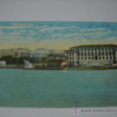 Postales: PUERTO RICO. SAN JUAN CITY FROM HARBOR, SAN JUAN P. R. ESCRITA EN 1921. SIN CIRCULAR. Lote 24005028