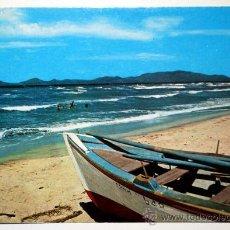 Postales: VENEZUELA. ISLA DE MARGARITA. PLAYA LA ARESTINGA.. Lote 24735407
