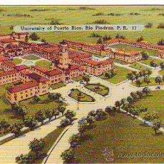 Postales: PUERTO RICO - RIO PIEDRAS - UNIVERSITY - MINI POSTAL 6,50X9,50CM. Lote 24741111