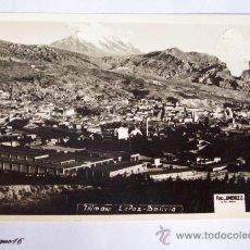 Postales: ILLIMANI, LA PAZ, BOLIVIA. 1955. FOTO JIMENEZ. Lote 26335262