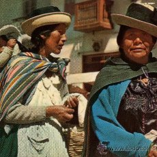 Postales: HUANCAYO Nº C 1100 PERÚ VENDEDORAS INDÍGENAS SIN CIRCULAR AÑO 1958. Lote 26342393