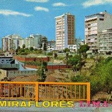 Postales: LIMA Nº 413 (PERÚ) MODERNOS EDIFICIOS DE MIRAFLORES DESDE EL MALECÓN CISNEROS SIN CIRCULAR. Lote 24949966