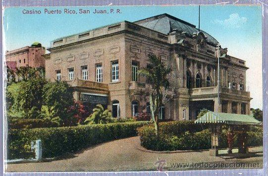TARJETA POSTAL PUERTO RICO - CASINO DE PUERTO RICO, SAN JUAN (Postales - Postales Extranjero - América)