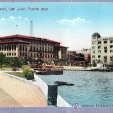 Postales: TARJETA POSTAL DE PUERTO RICO - EDIFICIO FEDERAL EN SAN JUAN. Lote 24968771