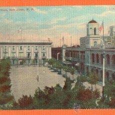Postales: PLAZA DE ARMAS - SAN JUAN DE PUERTO RICO - BOSSELMAN & CO. NEW YORK SIN CIRCULAR. Lote 25770324