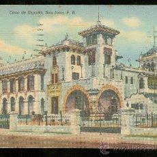 Postales: TARJETA POSTAL DE PUERTO RICO. SAN JUAN. CASA DE ESPAÑA.. Lote 26060858