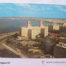 Postales: HOTEL NACIONAL Y VISTA PARCIAL. HABANA, CUBA. CASA MORRIS.. Lote 27545396